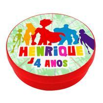 a1-Lembrancinha Latinha Os Jovens Titãs Personalizado - Mz decoraçoes e festas
