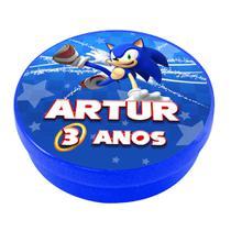 a1-Lembrancinha Latinha Sonic Personalizado - Vem festejar