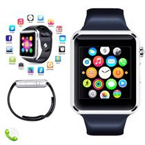 A1 Relógio Inteligente Smart Watch Bluetooth Chip Android - prata - Lx