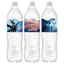 a2-Adesivos p/ Garrafa Água Como Treinar seu Dragão c/ 05 unidades - Mz decoraçoes e festas