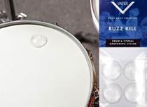 Abafador e Filtro de Tambores Vater Buzz Kill Extra Dry VBUZZXD com 4 Filtros Grandes tipo Moongel -