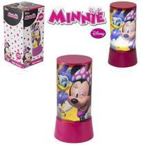 Abajur de Mesa Minnie Disney 18 Cm c/ Led à Pilha - 133631 - Etilux