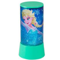 Abajur Luminária De Led Frozen, Decorativa - Etilux