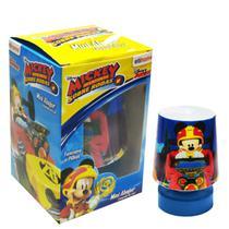 Abajur Luminária Mickey Infantil Mini Luz Led - 4S Decor