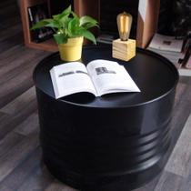 Abajur Mini Cubo Wood Base E-27 - Pinus - Ellume - Ellume Design
