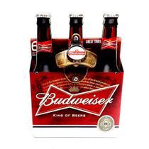 Abridor de Garrafa c/ Ímã e Adesivo Engradado Cerveja Budweiser - Joy