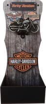 Abridor De Garrafa De Parede Decorativo Mdf Harley Davidson - Rgr Visual