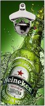 Abridor De Garrafa Magnético Parede Cerveja Bar Churrasco Vintage I Love Beer - Vital Quadros