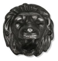 Abridor de garrafas de parede preto formato leão - Mobimax