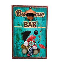 Abridor de garrafas magnético barbecue bar abmg0026 - Woodbull