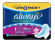 Absorvente always active noturno leve8 e pague7 - PROCTER