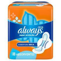 Absorvente always c/abas c/8 und -