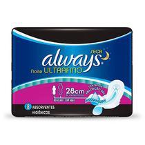 Absorvente Always Noite Ultrafino Seca C/abas 8 Unids -