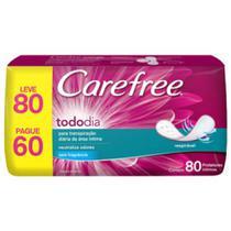 Absorvente Carefree Original L80P60 -