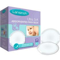 Absorvente de seios UltraSoft Lansinoh  24 unidades -