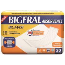 Absorvente geriatrico big maxi 20 un - Bigfral