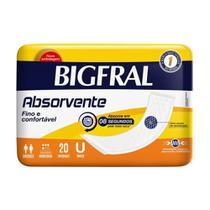 Absorvente Geriátrico Bigfral com 20 Unidades -