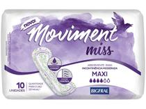 Absorvente Geriátrico Bigfral sem Abas 10 Unidades - Moviment Miss