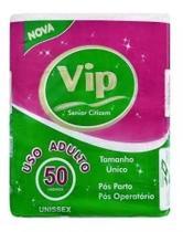 ABSORVENTE GERIATRICO VIP POS PARTO E POS OPERATORIO - 50 unidades -