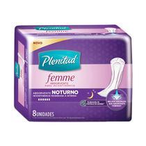 Absorvente incontinência Femme Noturno plenitud 8 Unidades -
