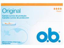 Absorvente Interno Dia e Noite O.B. - Original 10 Unidades