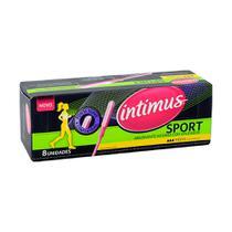 Absorvente Interno Intimus Sport 8 Und Fluxo Médio -