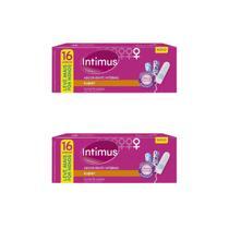 Absorvente Interno Intimus Super  Kit c/2x 16 Unidades -