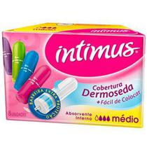 Absorvente Interno Médio - 8 unidades - Intimus -