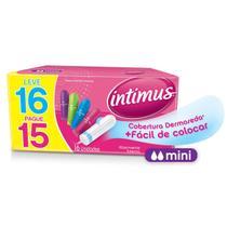Absorvente Intimus Gel Interno Mini C/ 16 Unidades -