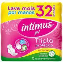 Absorvente Intimus Gel Seca Com Abas - 32 Unidades -