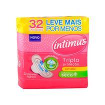 Absorvente Intimus Gel Tripla Proteção C/ Abas 32 Und -