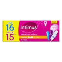 Absorvente intimus interno super lv16 pg15  cod-542871 - Kimberly-Clark