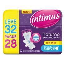 Absorvente Intimus Noturno Extra Proteção Com Abas -