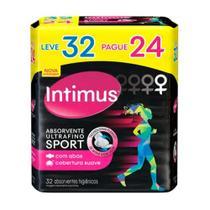 Absorvente Intimus Sport Ultrafino Com Abas Suave Leve 32 Pague 24 -