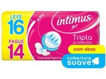 Absorvente intimus tripla proteção suave com abas 16x of -