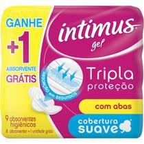Absorvente intimus tripla proteção suave com abas .9x1 -