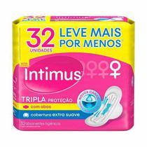 Absorvente Intimus Tripla Proteção Suave Com Abas - Intimus Gel
