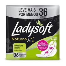 Absorvente Ladysoft Noturno Suave Com Abas Embalagem com 36 Unidades - Desconhecido