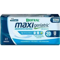 Absorvente Multiuso Maxi Geriatric - 160 unidades - Biofral - Tena