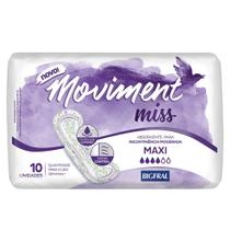 Absorvente para Incontinência Moviment Miss Maxi - 10 Unidades
