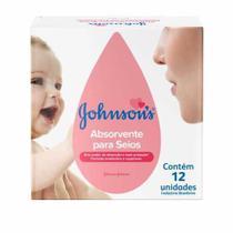 Absorvente Para os Seios Johnsons c/ 12 Unidades - Johnson & Johnson