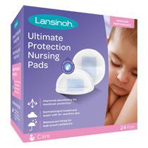 Absorvente para Seios Ultimate Protection Lansinoh - 24 unidades -