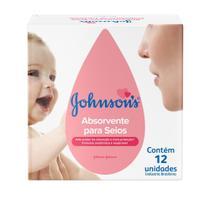 Absorvente Seios JohnsonS 12 Unidades - Johnson's