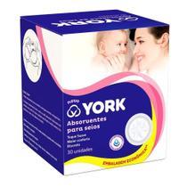Absorventes para Seios York 30 unidades -