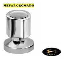 """Acabamento C-40 Metal para Registro de base padrão Deca 1/2"""" ou 3/4"""" pressão ou gaveta - TAPS"""