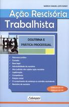 Ação Rescisória Trabalhista - Doutrina e Prática Processual - Anhanguera editora jurídica
