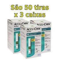 ACCU-CHEK ACTIVE - COMBO 150 TIRAS (3x50) - Roche