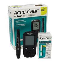 Accu-chek active - kit para controle de glicemia - Accu Chek