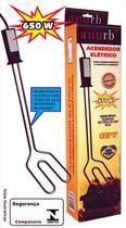 Acendedor Para Churrasqueira E Lareiras Eletrico 650w Anurb  220V -