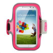 Acessório Belkin Braçadeira p/ Galaxy S4 Pink - F8M558btC01 -